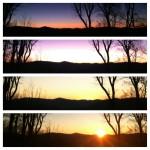 Birthday sunrise 2012